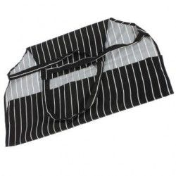 Generico Adjustable Striped Apron with 2 Pockets