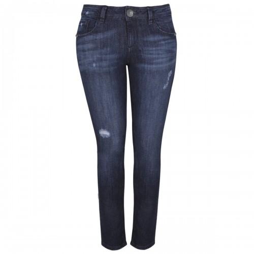 Jeans Corte Skinny con Cierre en Bolsas Life Styler
