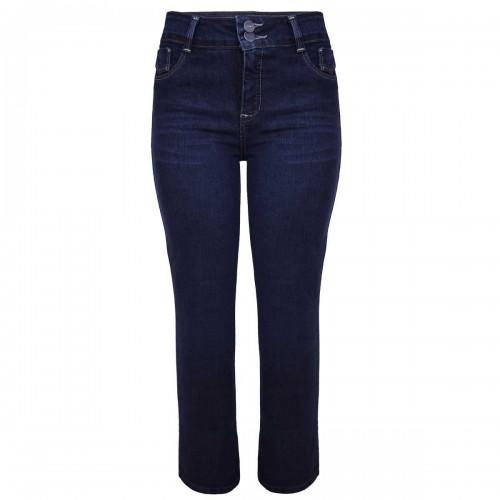 Jeans Petite de Corte Recto Natural