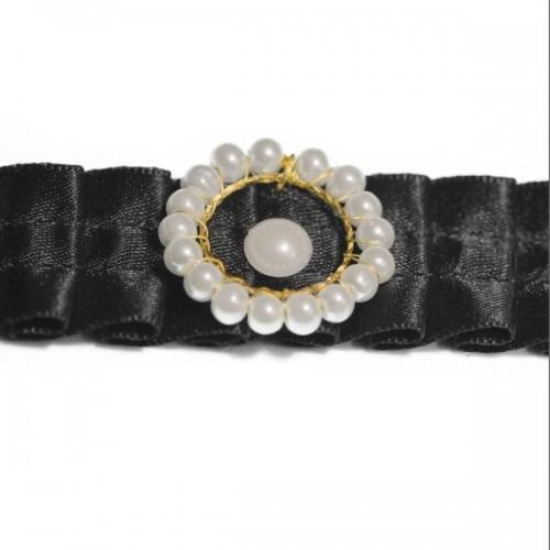 Collar Choker Aro de Perlas