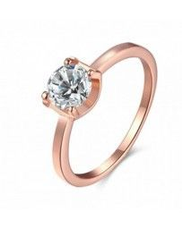 Anillo Singapore on Pink Cristal Sun with Swarovski