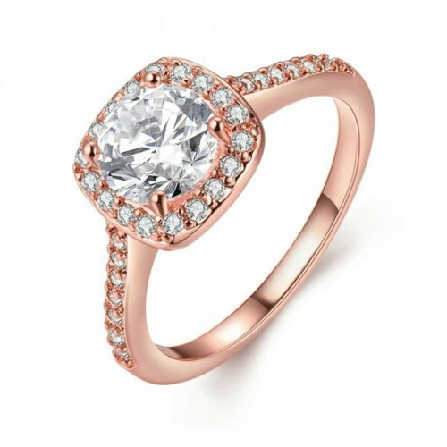 Anillo Marbella on Pink, Cristal Sun with Swarovski