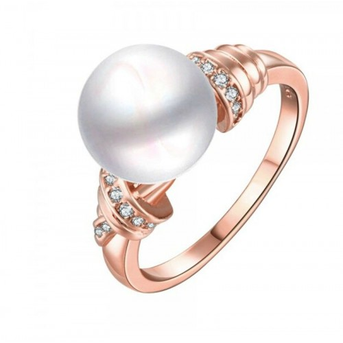Anillo Turin on Pink Cristal Sun with Swarovski