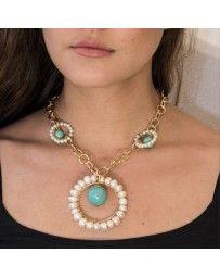 Collar Aro de Perlas