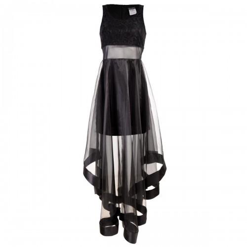 Vestido Escote Redondo Tehfi