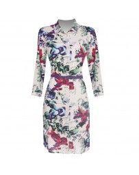 Vestido Estampado Floral Gabriela Fiori