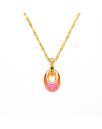 COLLAR HELIOS RED MAGMA