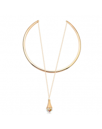 Collar Penelope on Gold, Cristal Sun with Swarovski