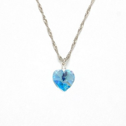 COLLAR CORAZON BLUE SHADE