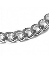 Collar de Cadena de Plata