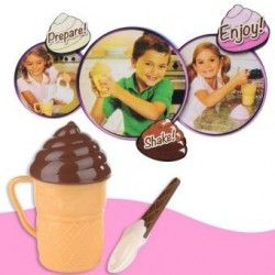 Magic Ice Cream Shake Maker Summer DIY Smoothies Milkshake Cup