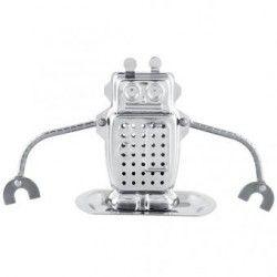 Generico Robot Tea Infuser Strainer Herbal Spice Filter Diffuser Tea Essential