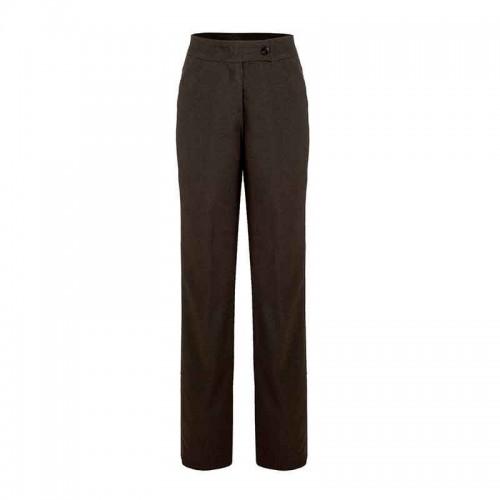 Pantalón de vestir largo con bolsas c