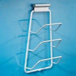 Práctica tapa de olla de la puerta de alta calidad Montada  Estante para 3 tapas impresionante utensilios de cocina de producto
