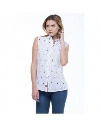 Camisa Magnolia Blanco