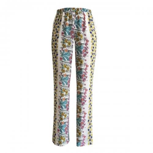 Pantalón con Estampado de Hojas Foley's
