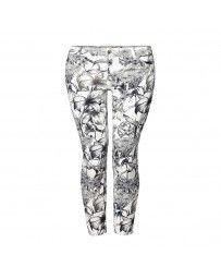 Pantalón con Estampado de Flores Dex