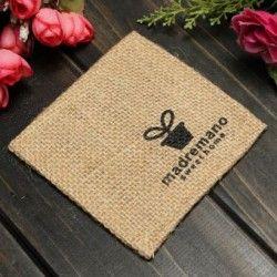 Paño de lino país estilo calor taza tazón de fuente mantel posavasos amortiguador soporte cojín flor recipiente