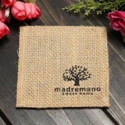 Paño de lino país calor taza olla Bowl mantel posavasos cojín titular Pad árbol de estilo
