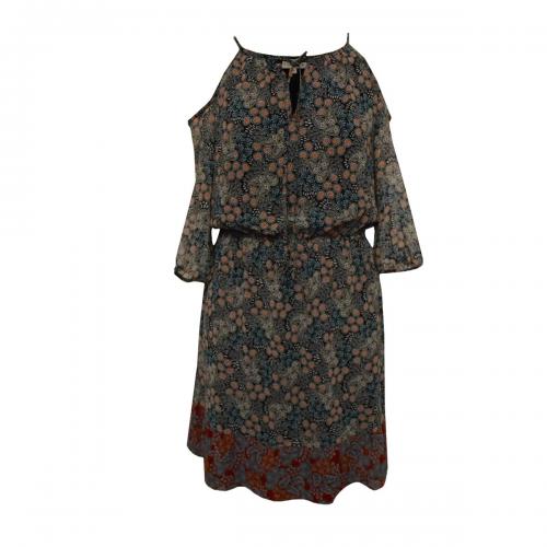 Vestido Estampado Cachemira Foley's