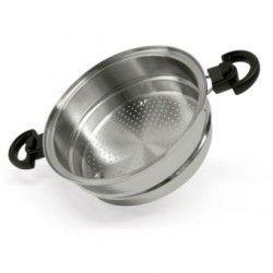 Utensilio de Cocina Classica Gold Vaporera para Utensilio de 6 Qts Acero Inoxidable Quirúrgico