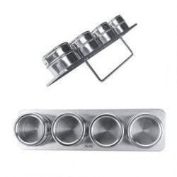 Juego de Especieros Magnéticos Mod 665700 - Plata
