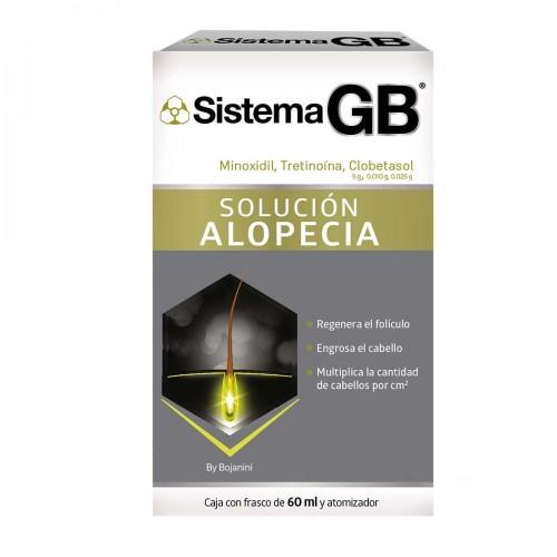 Sistema GB solucion alopecia E/10