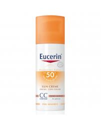 Eucerin SUN CC Cream Medio SPF50 mas  50ML