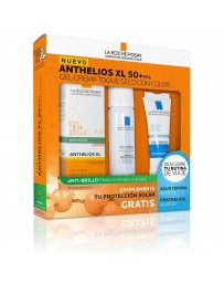 Pack Anthelios Xl 50 mas Fps Gel-Crema Toque Seco Con Color