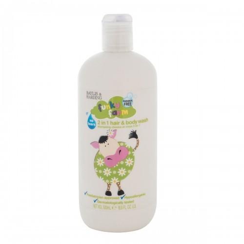 Shampoo 2 En 1 Cabello y Cuerpo Funky Farm