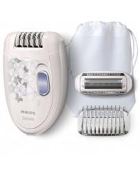 Depiladora Compacta con Cable HP6423 Philips Blanco