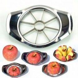 Rebanador Descorazonador Metalico De Manzanas 2 En 1